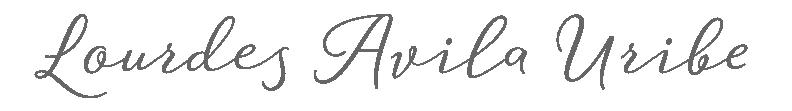 Lourdes Avila Uribe - logo